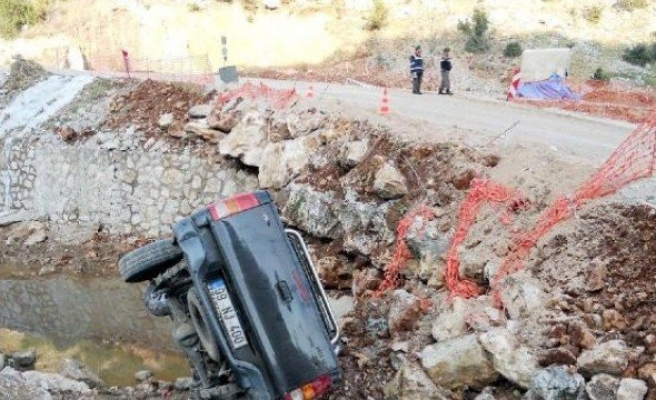 Andırın'da kaza