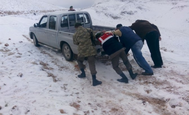 Yaylada mahsur kalan 2 çoban kurtarıldı