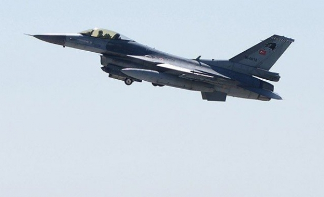 Merzifon'da F-16 düştü!..