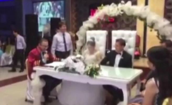 Türkiye'nin en komik nikahı!