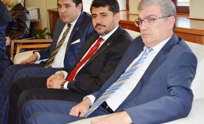 Milletvekili Sıtkı Güvenç ve İl Teşkilatı KSÜ'de