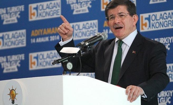 Başbakan Davutoğlu, Adıyaman'a geldi
