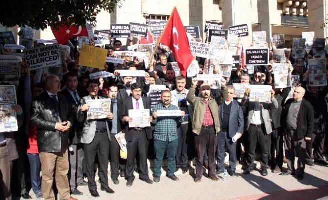 Adana'da 14 Aralık Operasyonu Protesto Edildi