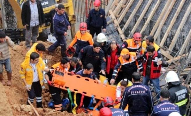 Kahramanmaraş'taki göçük