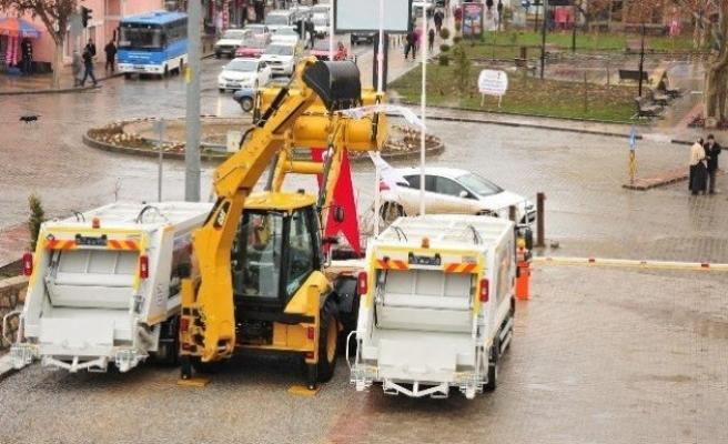 Afşin Belediyesi 19 yeni araç aldı