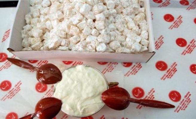 Yunanistan'a yoğurtlu lokum...