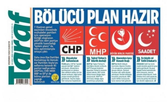 AKP'nin seçim öncesi muhalefeti bölme planı!