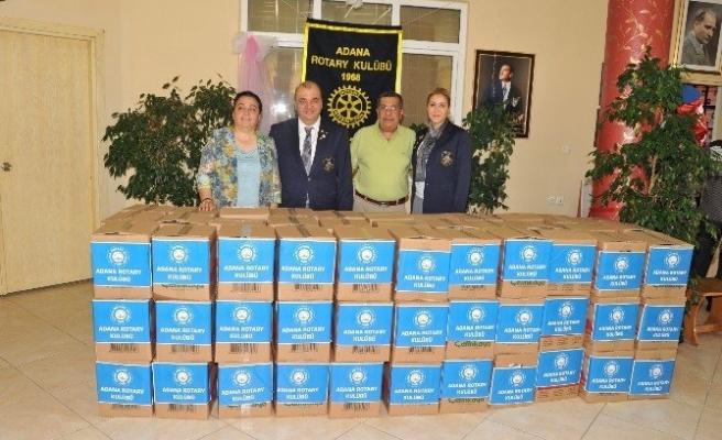 Rotary Kulübü'nden Ramazan Yardımı