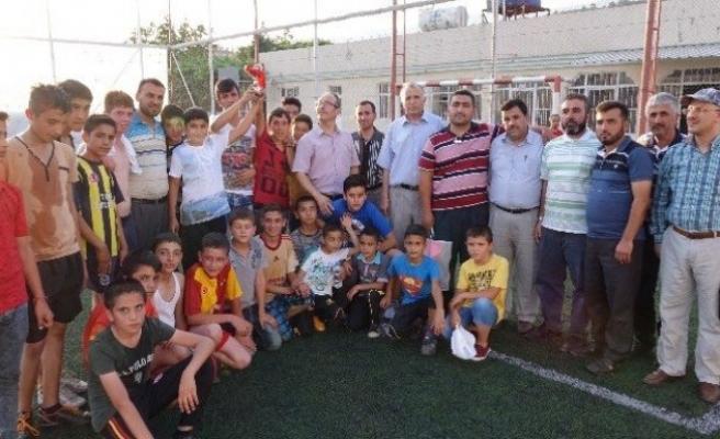 Kuran kursları arası futbol turnuvası