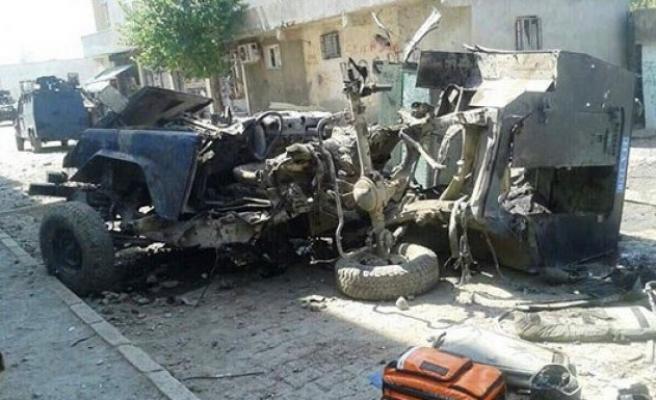 Şırnak'ta mayınlı tuzak: 4 polis şehit!