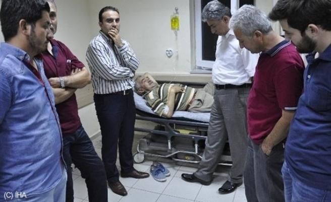 Şehidin Dedesi ve Babaannesi Hastaneye Kaldırıldı!