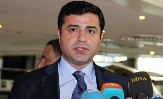 Demirtaş: 'PKK'nın şiddet eylemlerini durdurması lazım'