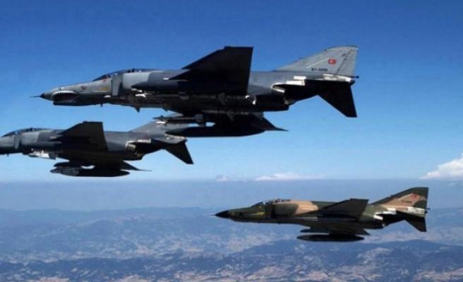 Hava operasyonu: 60 terörist öldürüldü!