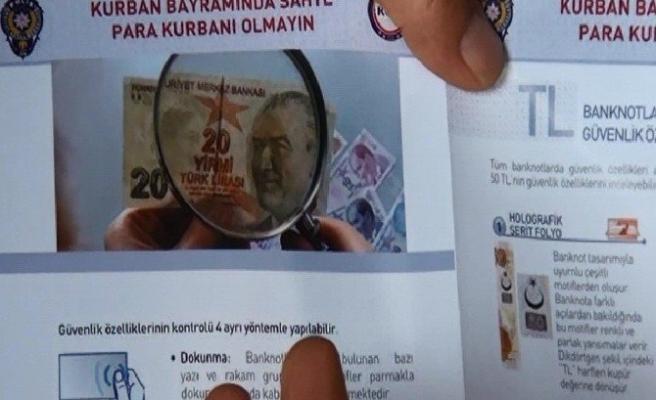 Polisten Kurban Satıcılarına 'Sahte Para' Uyarısı!