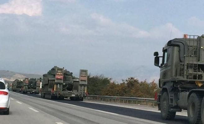 Diyarbakır'a tank sevkiyatı!