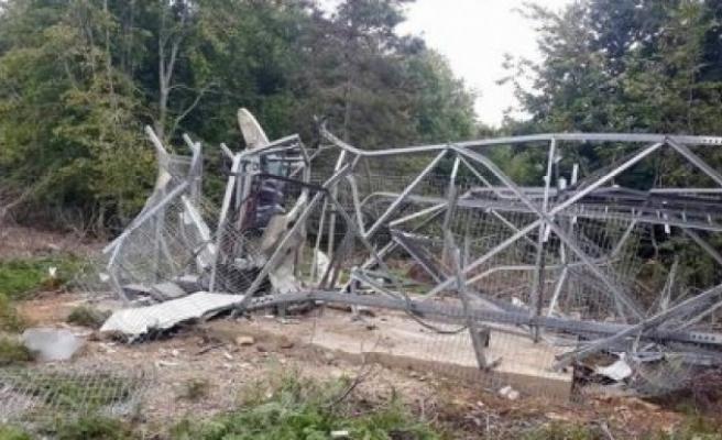 Teröristler Amanos'lardaki baz istasyonuna saldırdı!