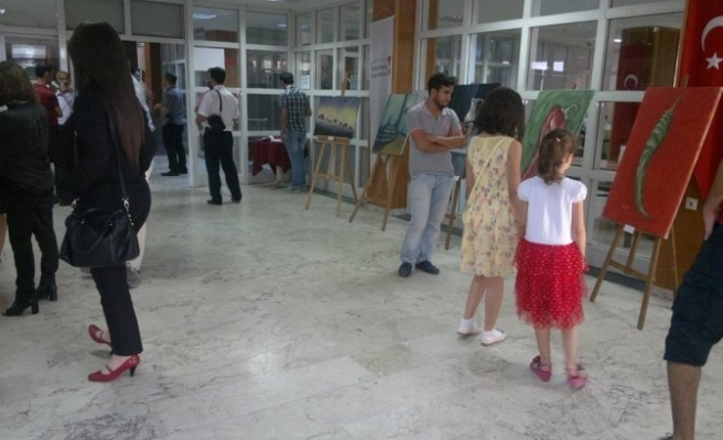 KSÜ'de Makedon Ressamların Ortak Sergisi!