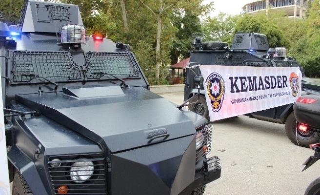 Kahramanmaraş'ta Emniyete 26 Yeni Araç!