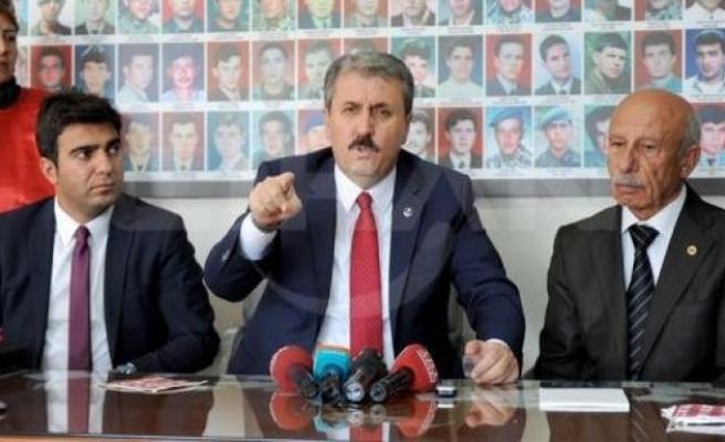 Destici: PKK ile perde arkasında görüşmeler olabilir