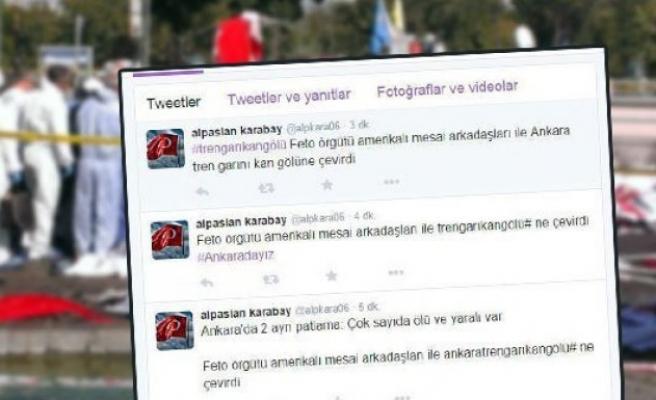 Savcıdan skandal 'patlama' tweet'leri!