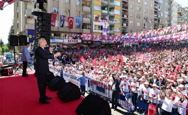 Kılıçdaroğlu Kahramanmaraş'a geliyor!