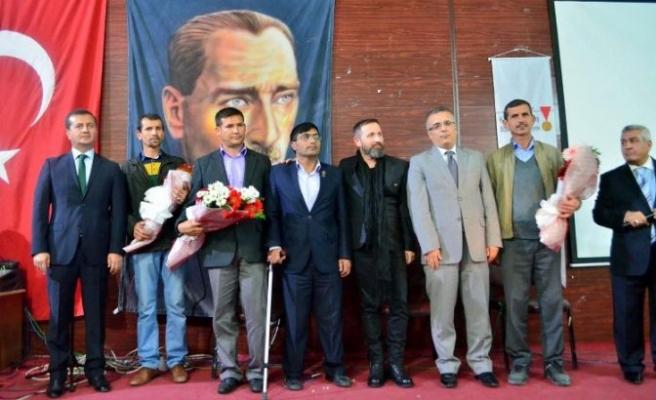 Şehitleri Anma Gecesi'nin ilki Pazarcık'ta gerçekleştirildi!