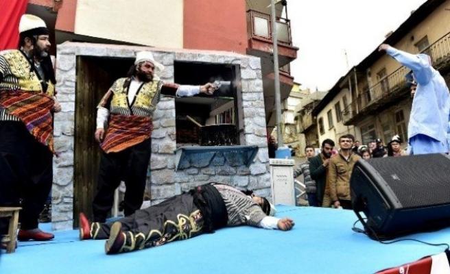 Kahramanmaraş'ta 5 bin kişiye süt ikram edildi