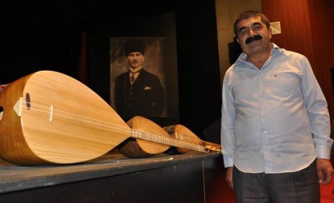Ünlü halk ozanlarının bağlamalarıyla '4 Saz, Bir Usta' konseri!