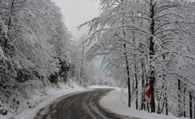 Kar yağışı sonrası kartpostallık görüntüler!