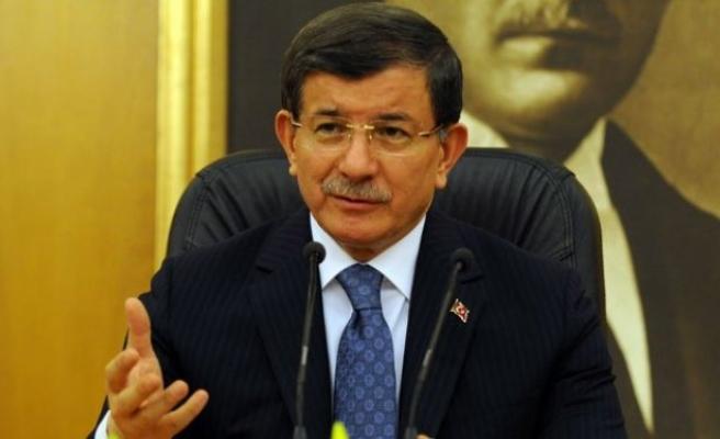Davutoğlu: 'Türkiye Suriye'nin bölünmesine direniyor'!