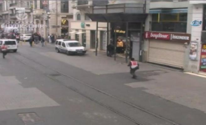 İstiklal Caddesi'nde patlama!!