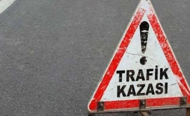 Trafik kazası:1 ölü,1 yaralı