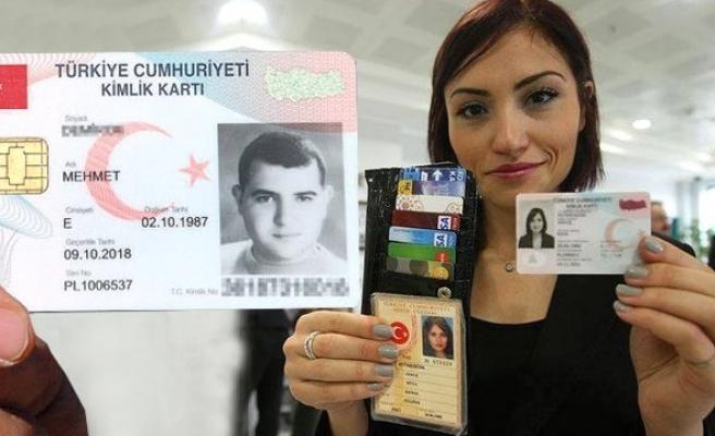 Yeni kimlik kartlarına yılda 90 lira kira