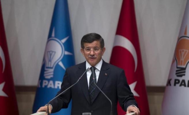Davutoğlu bugün saat 11'de MYK toplantısı yapacak