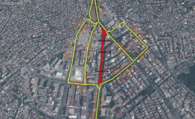 Azerbaycan Bulvarı İki gün Trafiğe kapatılacak
