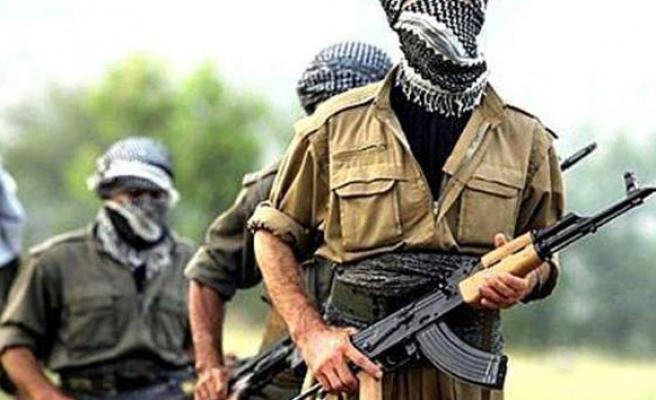 Askeri şehit eden PKK'lılar boğuldu!