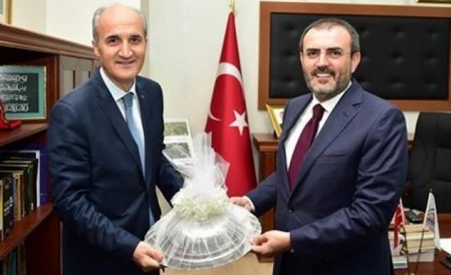 Eski Kültür Bakanı Ünal'dan Dulkadiroğlu'na ziyaret