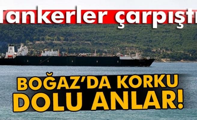 Çanakkale Boğazı'nda tanker kazası!
