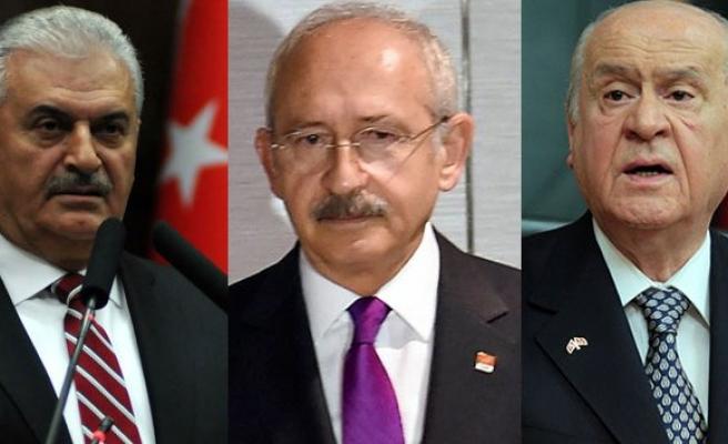 Liderlerden ortak basın açıklaması!