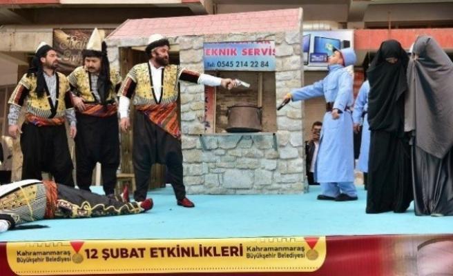 Kahramanmaraş'ta  Sütçü İmam Olayı Canlandırıldı