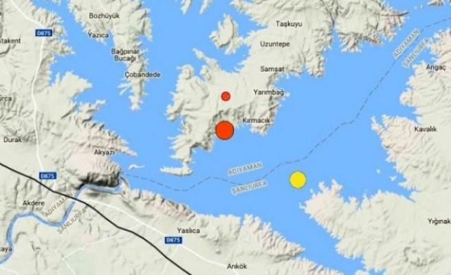 Adıyaman'da Korkutan Deprem!...