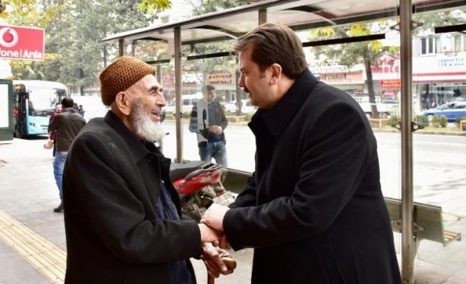 Başkan Erkoç, esnaf ziyaretlerine devam ediyor