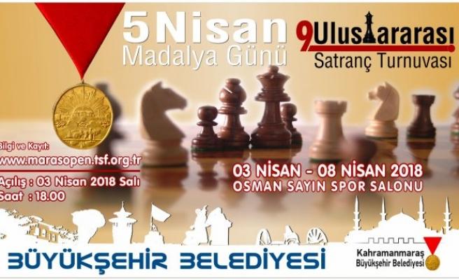 Uluslararası Satranç Turnuvası 3 Nisan'da başlıyor