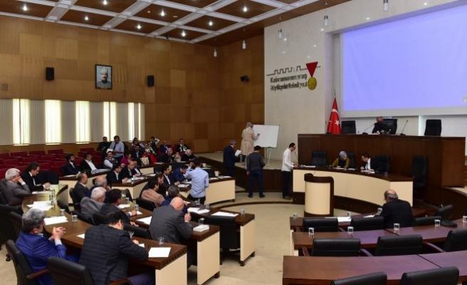Dulkadiroğlu Meclisi Nisan ayı toplantısını yaptı