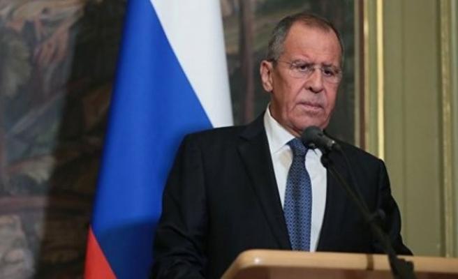 Lavrov: 'Askeri operasyonlarda uluslararası hukuk kurallarına göre hareket ediyoruz'