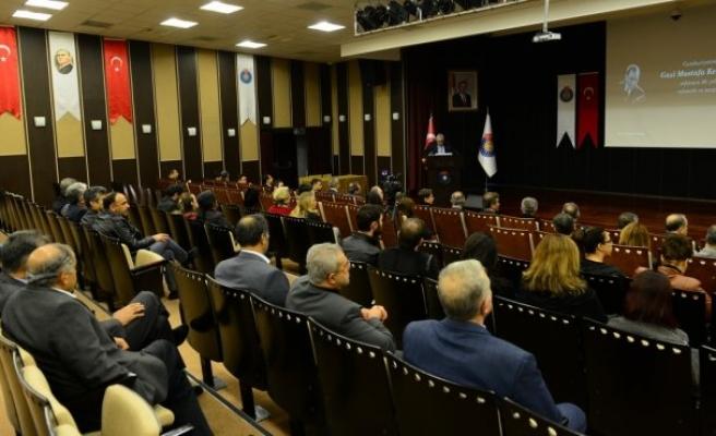 KSÜ, Gazi Mustafa Kemal Atatürk'ü andı