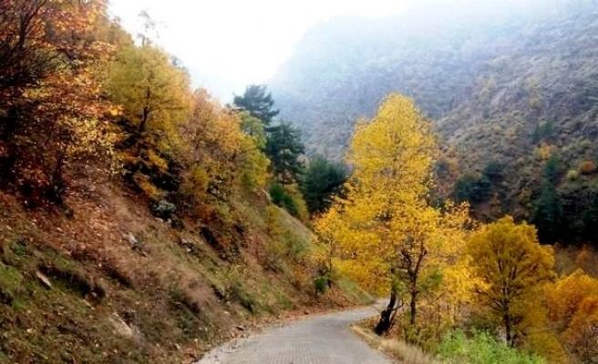 Kahramanmaraş'ta kartpostallık sonbahar