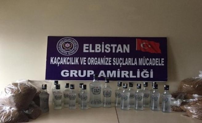 Kahramanmaraş'ta kaçak içki operasyonunda 8 gözaltı