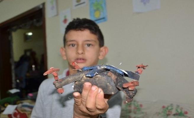 Öğrenciler şekerpancarından drone yaptı