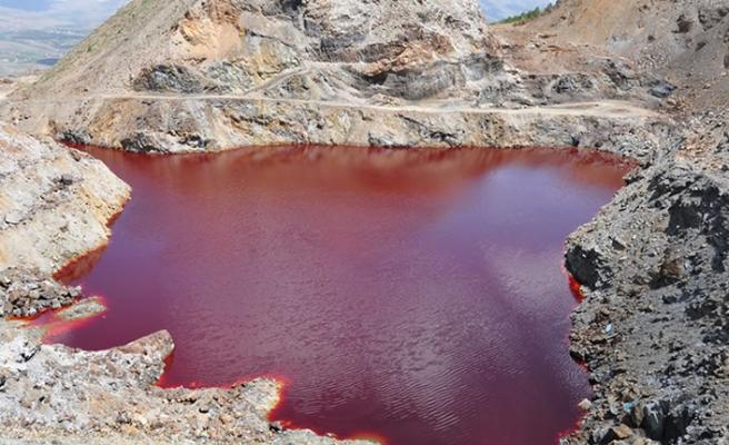 Kahramanmaraş'ta kızıl gölet bakın ne hale geldi!